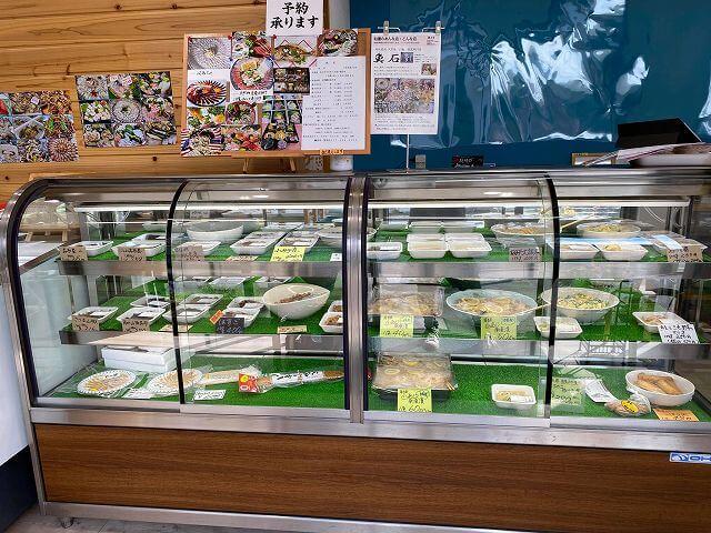 地元野菜を使用した惣菜
